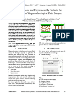 design of magnetorheological damper