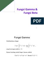 Fungsi Gamma Beta