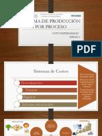 Sistema de Producción Por Proceso