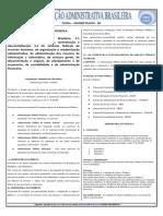 Apostila Organizacao Administrativa Brasileira