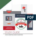 IAB Digital Marketing Media Foundations Certification Study Guide