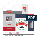 IAB Digital Marketing Media Foundations Certification Study Guide
