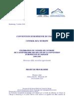 CELEBRAZIONE DELL'ANNIVERSARIO DEI DIECI ANNI DELLA CONVENZIONE EUROPEA DEL PAESAGGIO