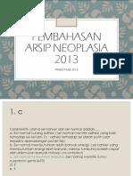 pembahasan neoplasia