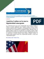 America Latina en La Nueva Bipolaridad e