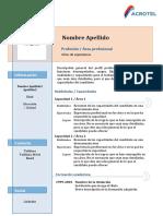 Modelo Funcional Basico Acrotel