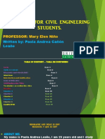 Magazine for Civil Engineering Students