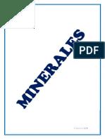 MONAGRAFIA MINERALES