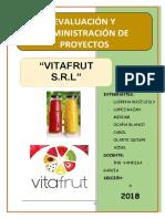 Nectar Vitafrut Proyecto