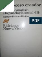 El proceso creador [Enrique Pichon-Rivière].pdf