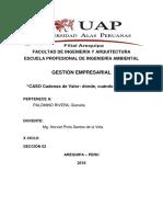 CASO PRACTICO Cadena de Valor