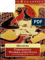 [the World's Classics] Hesiod, M. L. West - Theogony and Works and Days (1988, Oxford University Press)