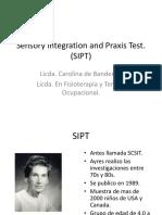 Sensory Integration and Praxis Test