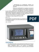 Analizador de Gases y Opacímetros