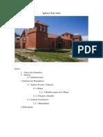Informe Iglesia San Juan de Juli