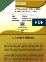 Analisis Antrian pada SPBU 34-17135 BEKASI JAYA
