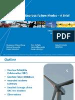 Wind Turbine Gearbox Failure Modes