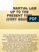 Post Martial Law