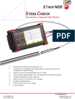 ETher SteelCheck Tube Inspection System
