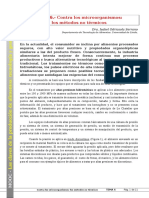 Tema 06. Contra Los Microorganismos. Los Métodos No Térmicos (2)