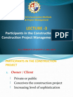 Lecture 3- Participants in the Construction Project.pptx