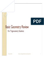 h Basic Geometry Review