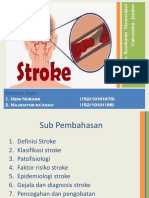 Epid Degeneratif Stroke (Kelompok 3)