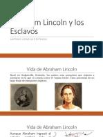 Unidad 5 Lincoln - Antonio González