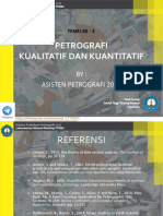 97223_ACARA 2 Petrografi Kualitatif Dan Kuantitatif