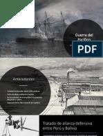 Unidad 5 Guerra Del Pacífico-Cristian Cárdenas