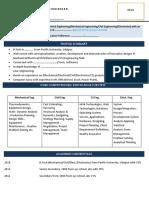 Standard Format Resume Eng.students PlT