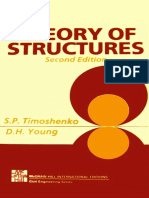 Theory of Structures 2nd Edition Timoshenko D H Young