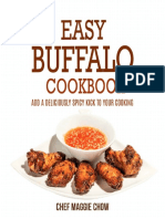 Easy Buffalo Cook Book - Chef Maggie Chow