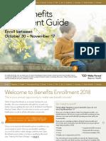 2018 Benefits Enrollment Guide