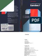 A Practical English Grammar - Exercises 1 Thomson Martinet-libre