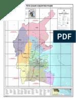 Kartografi Peta Wilayah Paser II 2016