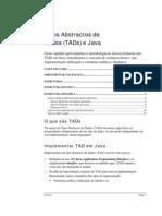 TADs Em Java e Estruturas