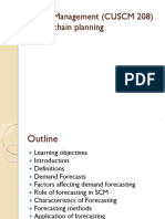 SME Toolkit - Demand Forecasting | Moving Average | Forecasting