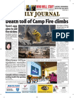San Mateo Daily Journal 11-14-18 Edition