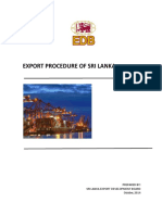 Export Procedure 21-10-2014