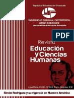 Revista Educacion y Ciencias Humanas 38-39 Versión Digital