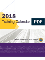 2018 i Iap Training Calendar