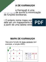 Aula 5 - Mapas de Karnaugh
