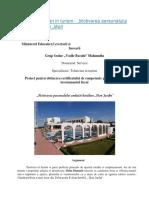 """""""Motivarea Personalului Unitatii Hoteliere """"Mon Jardin"""" - atestat in turism"""