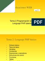Tema 2 PHP