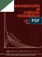 Introduccion Al Metodo Estadistico Ocr