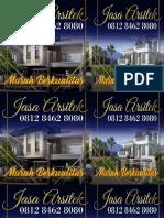 PROFESSIONAL, 0812 8462 8080 (Call/WA), Jasa Arsitek Rumah Minimalis Jakarta