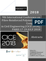 CICE2018 Abstracts