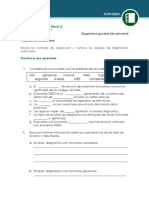 1.4.1 Diagnostico General Del Vehiculo - Actividad
