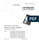 Hitachi manual--TS5K500.B OEM Specification R18